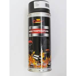 Spray vopsea Profesional Rezistent Termic NEGRU +400°C 400ml