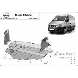 Scut motor metalic Nissan Interstar, fabricat dupa 2010