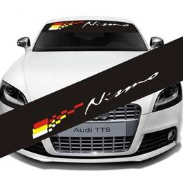 "Sticker parasolar auto ""Nismo"" (126 x 16cm)"