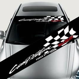 """Sticker parasolar auto """"Competition"""" (126 x 16cm)"""