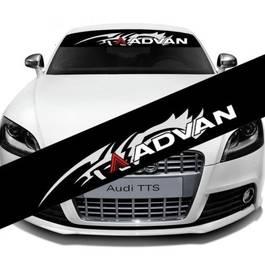 "Sticker parasolar auto ""Advan"" (126 x 16cm)"