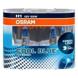 Set 2 becuri H1 Osram Cool Blue Intense - STOC-1012453