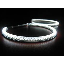 Kit 2 inele Angel Eyes LED SMD universal 72 mm  - K2I19158