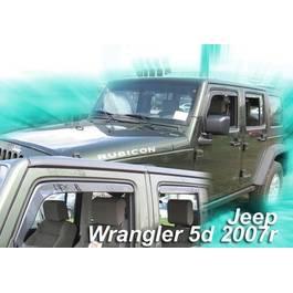 Paravanturi Geam Auto JEEP WRANGLER an fabr. 2007- ( Marca Heko - set FATA + SPATE )