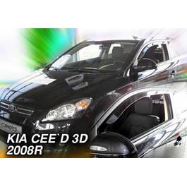 Paravanturi Geam Auto KIA C`EED Hatchback cu 3 usi ( Marca Heko - set FATA )