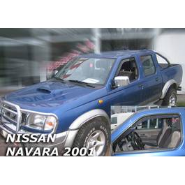 Paravanturi Geam Auto NISSAN PICK-UP an fabr. 2001-2005 ( Marca Heko - set FATA )