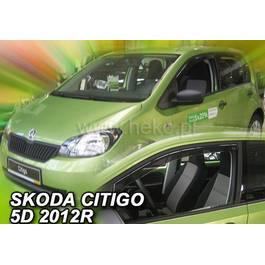 Paravanturi Geam Auto pentru Skoda Citigo, an fabr. 2012- ( Marca Heko - set FATA )