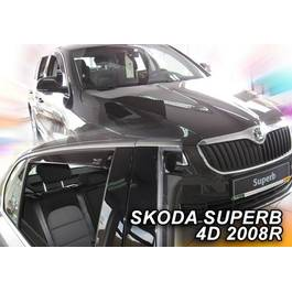 Paravanturi Geam Auto SKODA SUPERB Sedan ( limuzina) an fabr. 2008- ( Marca Heko - set FATA )