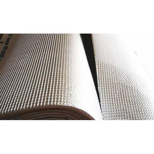 Folie,material de antifonare si insonorizare auto cu aluminiu si parte lipicioasa de 1m x 0,5 m - FMD54369