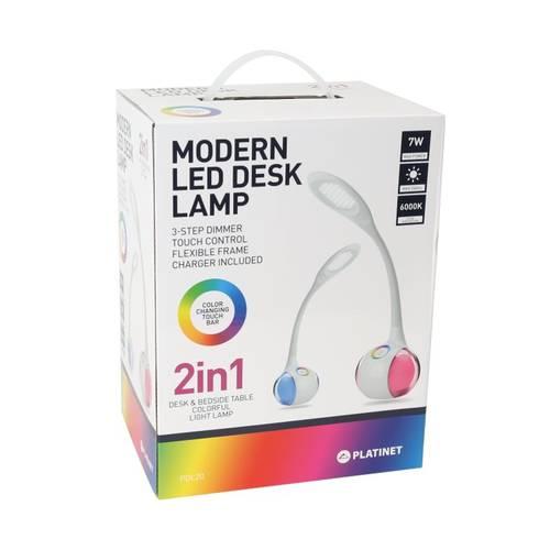 Veioza Mania Magic pentru Birou sau Camera cu Lampa de Veghe Ambientala 2-in-1 SMART LED RGB, Luminozitate si Culoare Reglabila