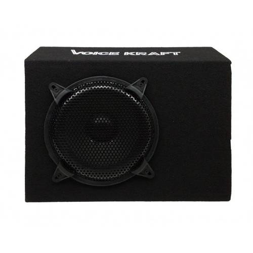 Subwoofer Bass Auto Activ cu Amplificator Incorporat 200W 20cm Voice Kraft