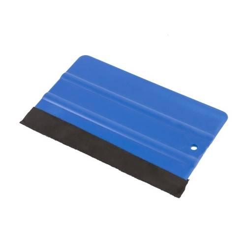 Racleta de plastic pentru aplicare folie culoare Albastru