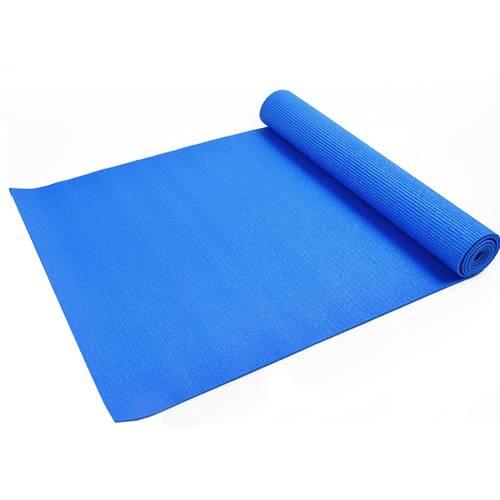 Saltea din Spuma PVC pentru Yoga sau Gimnastica, Culoare Albastru, Dimensiuni 174x61cm