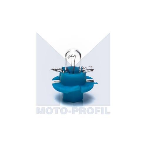 Bec bord BX8.5d B8 4D 1.2W 12V, culoare albastru , MTech , 1 buc.