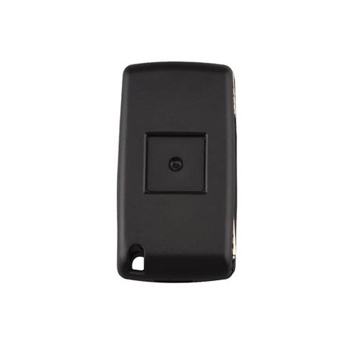 Carcasa cheie auto briceag cu 2 butoane CI-107 lamela cu canelura, fara suport baterie, compatibil Citroen