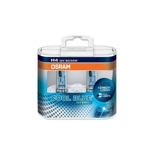 Set 2 becuri H4 Osram Cool Blue Intense - STC-1031720