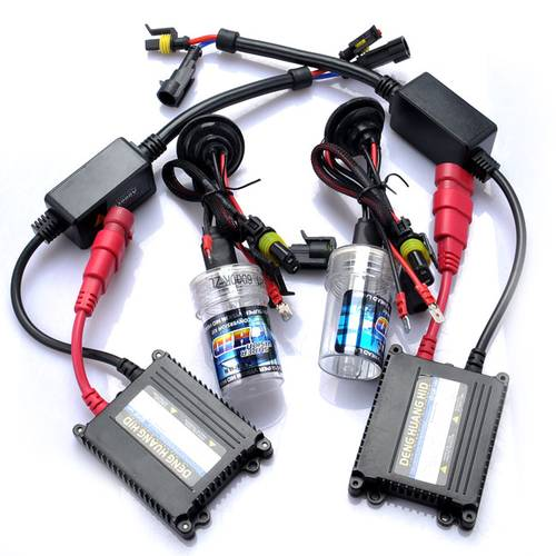 Kit intalatie xenon slim DC H1 8000 K 12 V economic - HID-DC123