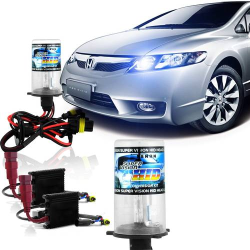 Kit intalatie xenon slim DC H11 6000 K 12 V economic - HID-DC134