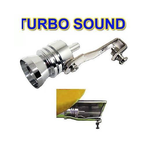 Imitator turbo - Pipa fluier toba Autostyle pt motor 1000- 1600 -diam. 32-43 mm - DS7536