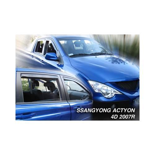 Paravanturi Geam Auto SSANGYONG ACTYON SPORTS an fabr. 2007 - ( Marca Heko - set FATA + SPATE )